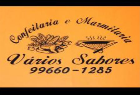 VÁRIOS SABORES CONFEITARIA E MARMITARIA