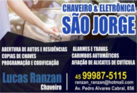 CHAVEIRO E ELETRÔNICA SÃO JORGE