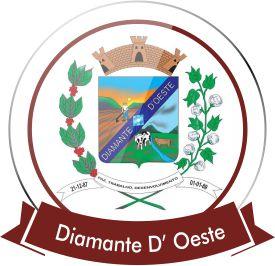 Diamante do oeste Bandeira