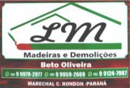 LM MADEIRAS E DEMOLIÇÕES