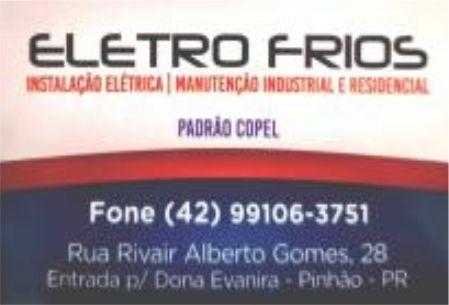 REFRIGERAÇÃO ELETRO FRIOS