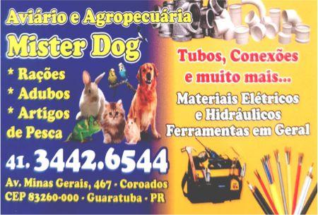 AVIÁRIO E AGROPECUARIA MISTER DOG