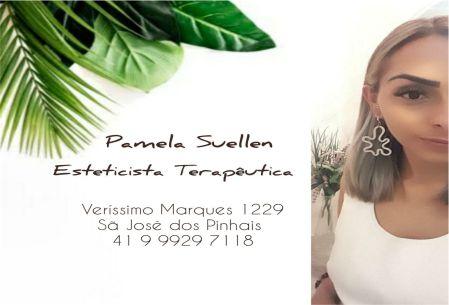 Pamela Suellen Esteticista Terapeutica