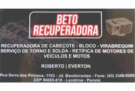 BETO RECUPERADORA