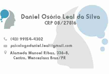 DANIEL OSÓRIO LEAL DA SILVA PSICÓLOGO