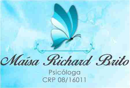 MAÍSA RICHARD BRITO PSICÓLOGA