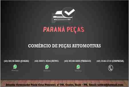 PARANÁ PEÇAS