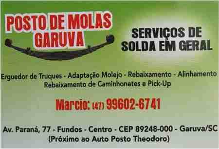 POSTO DE MOLAS GARUVA