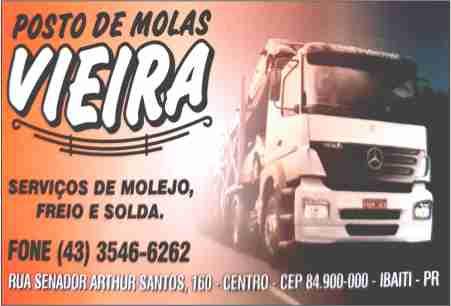 POSTO DE MOLAS VIEIRA