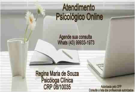 REGINA MARIA DE SOUZA CLÍNICA PSICÓLOGA