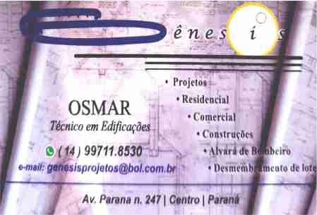 Gênesis Projetos